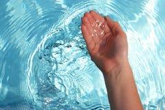 klart vatten Fotografering för Bildbyråer