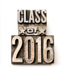 Klasa 2016 Zdjęcie Royalty Free