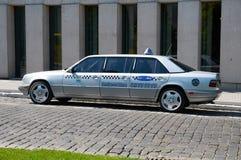 Klasa business euro taxi poznan Fotografia Royalty Free
