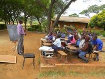 Klasa dzieci bez sala lekcyjnej Zdjęcie Stock