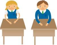 klasgenoten stock illustratie