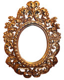 Klasic gold frame Stock Photos