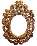 Klasic gold frame stock photos