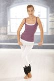 klasowa balet dziewczyna Fotografia Royalty Free