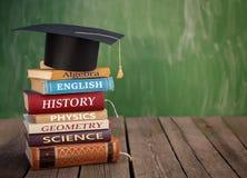 Klasowe książki przygotowywać dla szkoły zdjęcia royalty free