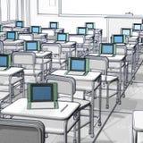 Klasowego pokoju technologia Obraz Stock