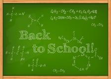 Klasowy chalkboard Zdjęcie Royalty Free
