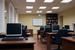 klasowy komputerowy szkolenie Zdjęcia Stock