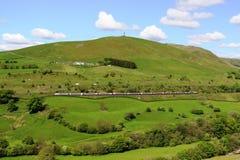 Klasse 390 de elektrische trein met meerdere eenheden van Pendolino Royalty-vrije Stock Fotografie