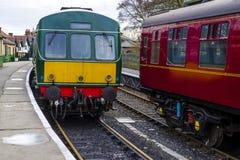 Klasse 101 Diesel Met meerdere eenheden Royalty-vrije Stock Foto's