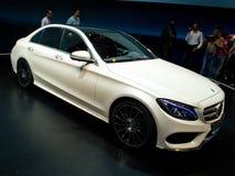 Klasse Genf 2014 Mercedess C Stockfotos