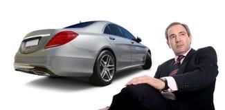 Klasse Mercedess S Stockfotografie