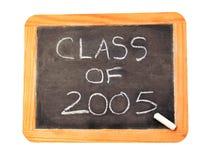 Klasse van 2005 Stock Foto