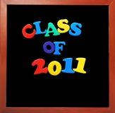Klasse van 2011 Stock Foto