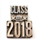 Klasse van 2018 Royalty-vrije Stock Afbeeldingen