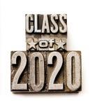 Klasse van 2020 Stock Foto