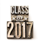 Klasse van 2017 Royalty-vrije Stock Afbeeldingen