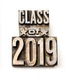 Klasse van 2019 Stock Foto
