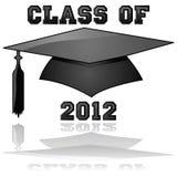 Klasse van de graduatie van 2012 Stock Afbeeldingen