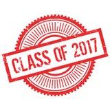Klasse van de zegel van 2017 stock illustratie