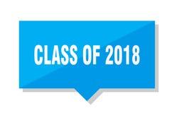 Klasse van het prijskaartje van 2018 Royalty-vrije Stock Foto's