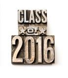 Klasse von 2016 Lizenzfreies Stockfoto