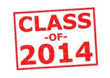 Klasse von 2014 Lizenzfreie Stockfotografie