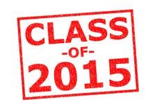 Klasse von 2015 Stockbilder