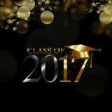 Klasse von 2017 Lizenzfreie Abbildung