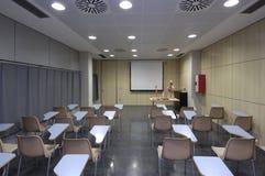 Klassenuniversität mit medizinischen Geräten Lizenzfreies Stockbild