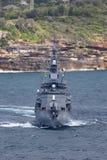 Klassenzerst?rer JS Makinami Takanami der Japan-Seeselbstverteidigungskraft Abreisesydney harbor stockfotos