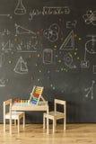 Klassenzimmer für kleine Kinder Lizenzfreies Stockbild