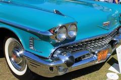Klassiek Amerikaans autodetail Stock Fotografie