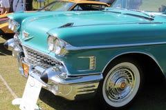 Klassiek Amerikaans autodetail Stock Foto's