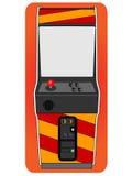 Klassiek arcadekabinet Royalty-vrije Stock Afbeeldingen