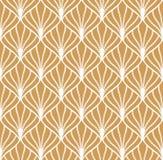 Klassiek Art Deco Seamless Pattern Geometrisch modieus ornament Vector antieke textuur vector illustratie
