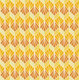 Klassiek Art Deco Seamless Pattern Geometrische modieuze textuur Abstracte Retro Vectortextuur Royalty-vrije Stock Foto