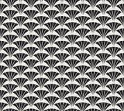 Klassiek Art Deco Seamless Pattern Geometrische modieuze textuur Abstracte Retro Vectortextuur stock illustratie
