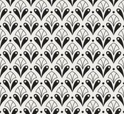 Klassiek Art Deco Seamless Pattern Geometrische modieuze textuur Abstracte Retro Vectortextuur vector illustratie