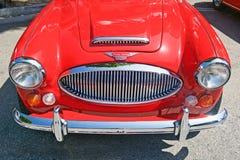 Klassiek Austin Healey Convertible royalty-vrije stock afbeelding