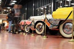 Klassiek auto'smuseum Royalty-vrije Stock Fotografie