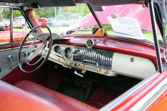 Klassiek autobinnenland Royalty-vrije Stock Foto