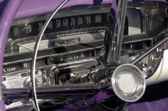 Klassiek autodashboard Royalty-vrije Stock Afbeeldingen