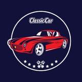 Klassiek autoembleem Stock Afbeelding