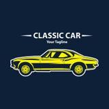 Klassiek autoembleem Royalty-vrije Stock Afbeelding