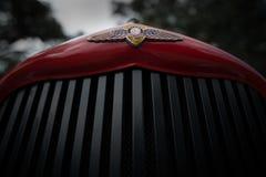 Klassiek autoembleem Stock Foto