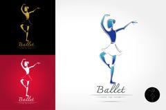 Klassiek balletembleem Royalty-vrije Stock Foto