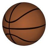 Klassiek basketbal, vectorillustratie Royalty-vrije Stock Afbeeldingen