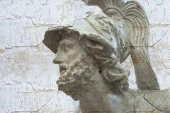 Klassiek beeldhouwwerk met texturen Royalty-vrije Stock Afbeeldingen