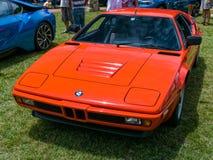 Klassiek BMW M1 Royalty-vrije Stock Afbeelding